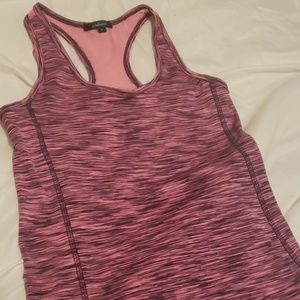 Pink razor back athletic shirt